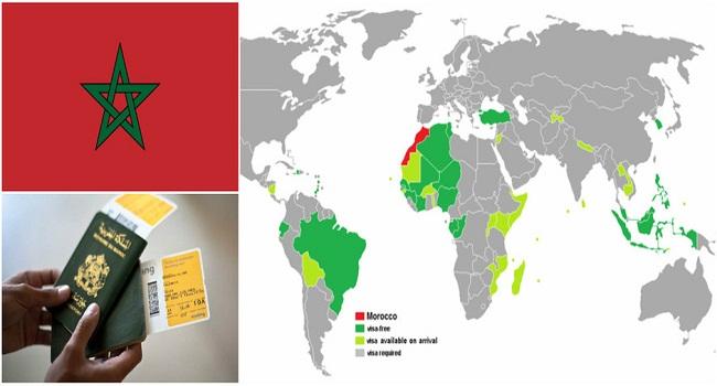 قائمة الدول التي يستطيع المغاربة السفر اليها فقط بجواز السفر المغربي دون تأشيرة